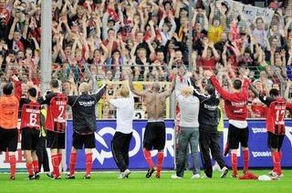 Wundert�te SC-Heimspiel