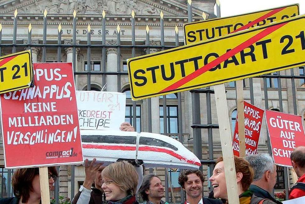 Stuttgart 21: Der Dialog ist geplatzt - Badische Zeitung TICKET