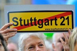 Fotos: Demo in Freiburg gegen Stuttgart 21