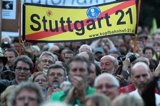 Stuttgart 21: Polizei gibt Demonstranten die Schuld