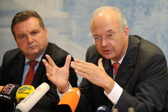 Stuttgart 21: Mappus lehnt Volksabstimmung ab