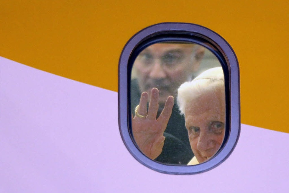 Der Papst kommt 2011 nach Freiburg - Salomon begeistert - Badische Zeitung TICKET