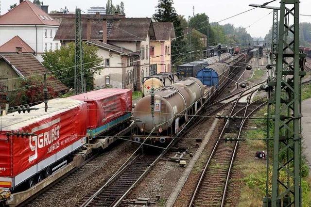 Geld für den Bahnausbau
