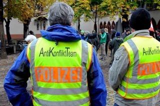 Polizei verstärkt Schutz für Treffen Merkel-Sarkozy