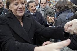 Fotos: Gipfeltreffen von Merkel und Sarkozy in Freiburg