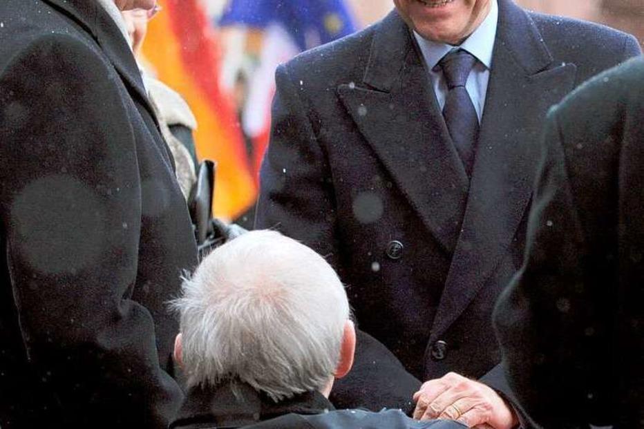 Fotos: Gipfeltreffen von Merkel und Sarkozy in Freiburg II
