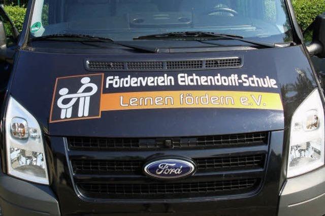 Bus ermöglicht viele Projekte der Eichendorffschule