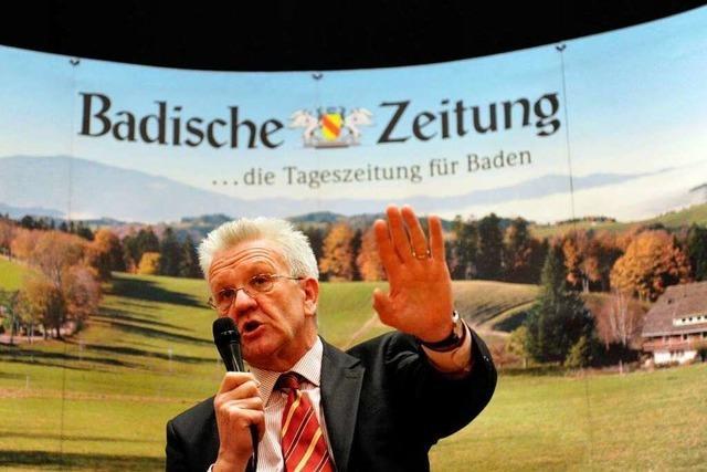 Winfried Kretschmann: Realistischer Querkopf
