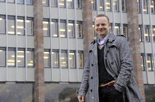 Ortstermin mit Christoph Glück von der FDP