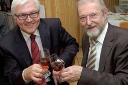 Herten: Weinprobe mit Frank Walter Steinmeier