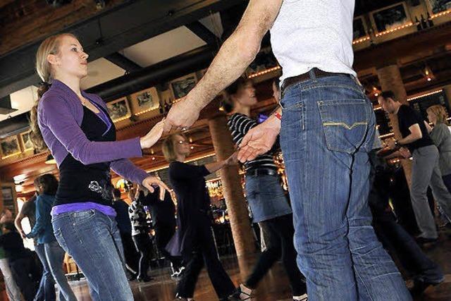 Tanzen, tanzen bis zum Abwinken