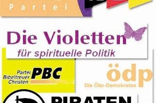 Das Violett im politischen Spektrum – und andere Farben