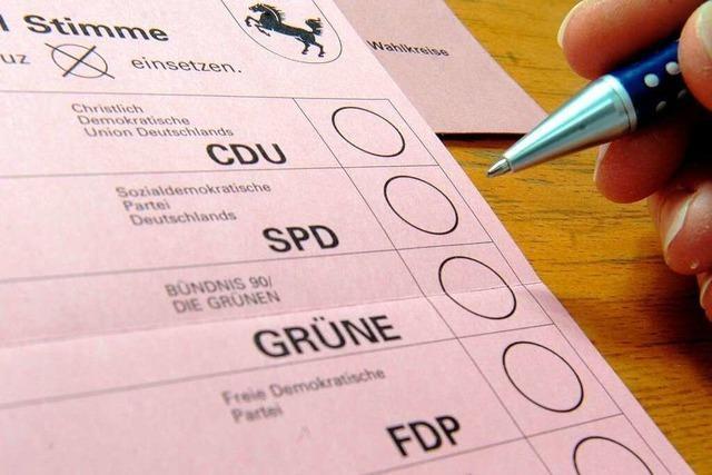 Viele Briefwähler bei Landtagswahl – hohe Wahlbeteiligung erwartet