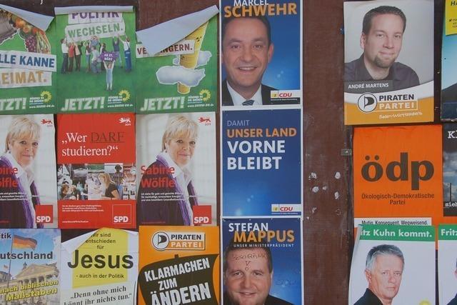 Endspurt im Wahlkampf: Mappus und Schmid erklären sich