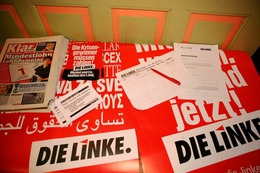 Fotos: Wahlparty der Linken in Freiburg