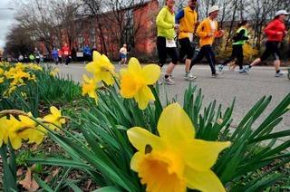 Beim Freiburg-Marathon soll's bis zu 25 Grad warm werden