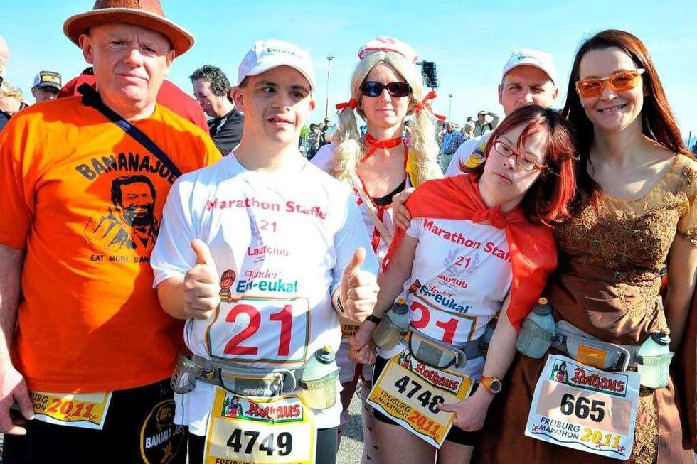 Freiburg-Marathon 2011: Mit Spaß und Wassergürtel ins Ziel - Badische Zeitung TICKET