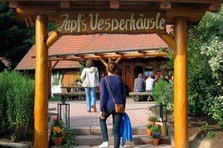 """Zapfs Vesperhäusle: Ein """"Sofa"""" aus der Keltenzeit"""