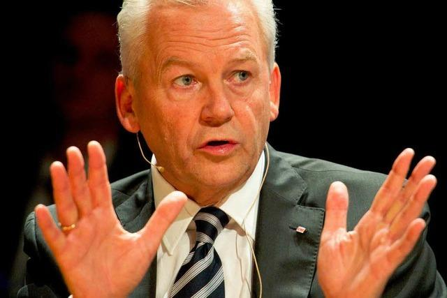 Bahnchef Grube will Stuttgart 21 durchziehen
