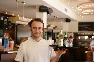 Café Extrablatt am Freiburger Dreisamufer