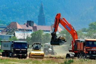 Bauarbeiten für den Papstbesuch haben begonnen