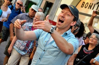"""L�rrach singt"": 2600 S�nger kapern das Stadtzentrum"