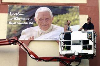 Freude auf Papst-Besuch wächst noch langsam