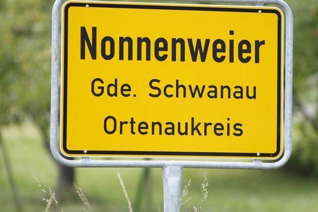 Warum heißt Nonnenweier Nonnenweier?