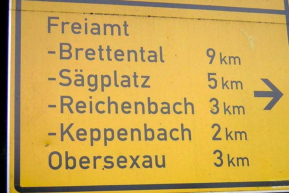 Warum heißt Freiamt Freiamt? - Badische Zeitung TICKET
