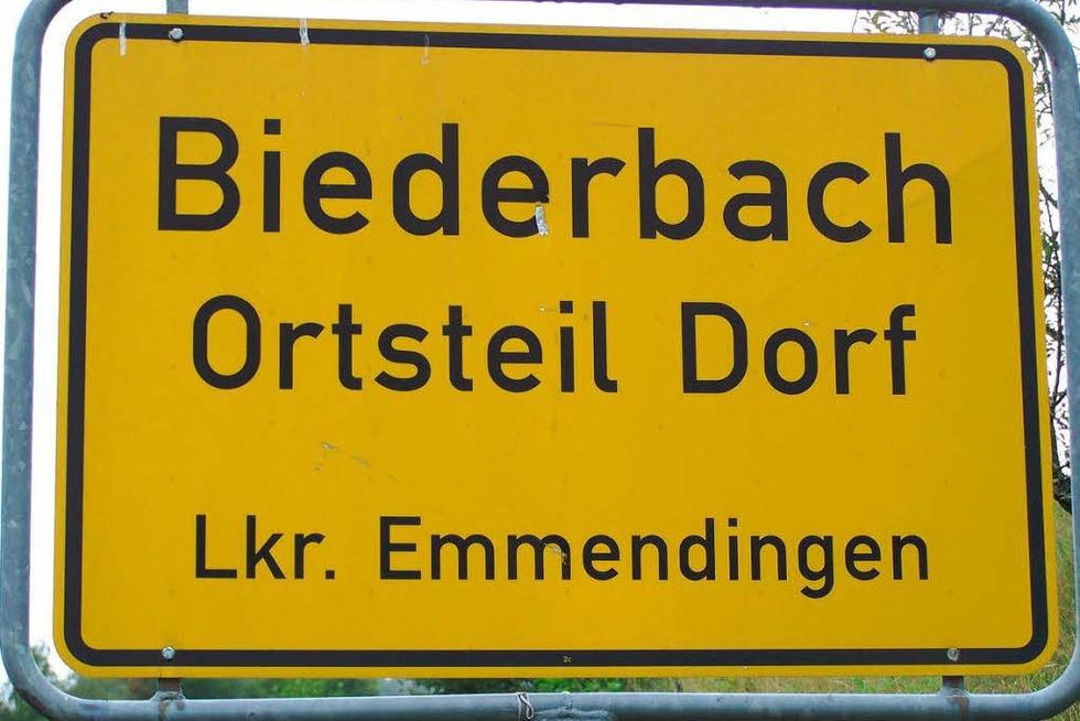 Warum heißt Biederbach Biederbach? - Badische Zeitung TICKET