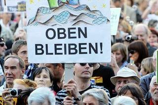 Stuttgart 21: Ein Schritt hin zum Volksentscheid