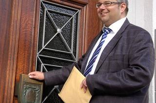 Alexander Guhl tritt bei der Bürgermeisterwahl an