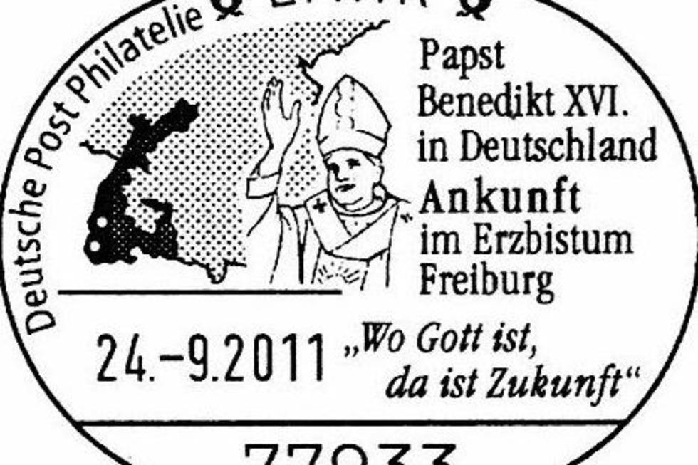 DER PAPST IN LAHR - Badische Zeitung TICKET