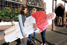 Fotos: Freiburg erwartet den Papst