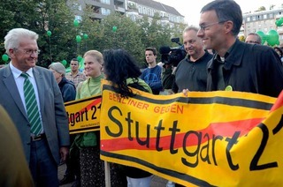 Streit um Stuttgart 21: Schmid wirft den Grünen Wortbruch vor