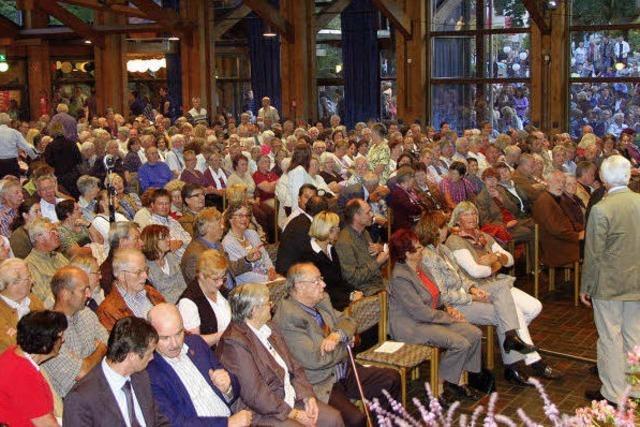 Ganz großes und diszipliniertes Publikum