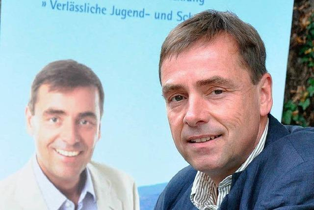Bürgermeisterwahl Müllheim: Aumüller zieht zurück