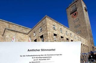 Stuttgart-21-Gegner wollen Quorum nicht akzeptieren