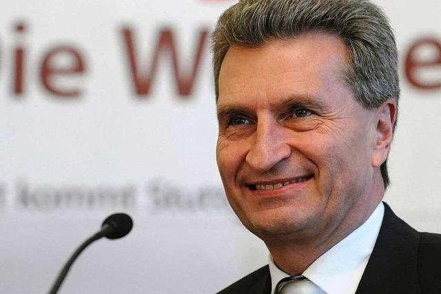 Live-Stream: Podiumsdiskussion mit Palmer und Oettinger in Freiburg