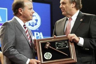 Roland Mack ist Präsident des Weltverbandes