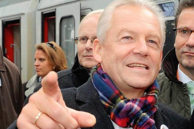 Bahnchef Grube setzt Signal für Stuttgart 21