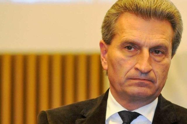 S21-Diskussion: Oettinger-Spruch sorgt für Aufregung