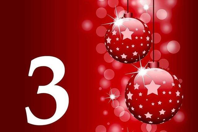 3. Dezember 2011: Die gute Nachricht aus Südbaden