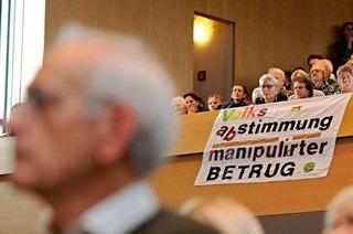 Stuttgart-21-Gegner wollen weiter demonstrieren
