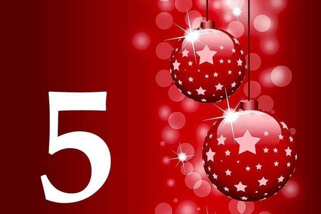 5. Dezember 2011: Die gute Nachricht aus Südbaden
