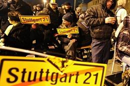 Fotos: Der Polizeieinsatz zur Räumung der Stuttgart 21-Baustelle