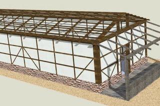 Ein Römerhaus zur Gartenschau