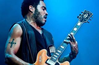 Lenny Kravitz tritt beim Stimmen-Festival in Lörrach auf