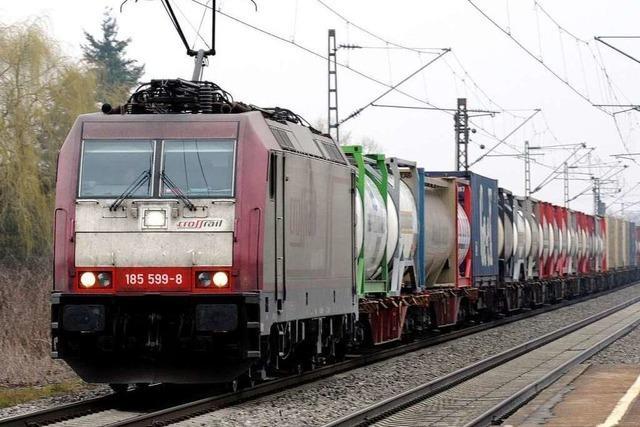 Weitere Züge haben im Rheintal keinen Platz