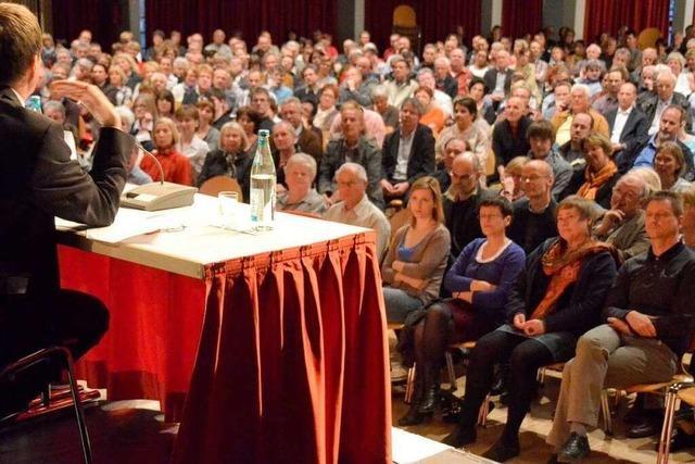 BZ-Podium zur OB-Wahl füllt den Bürgersaal
